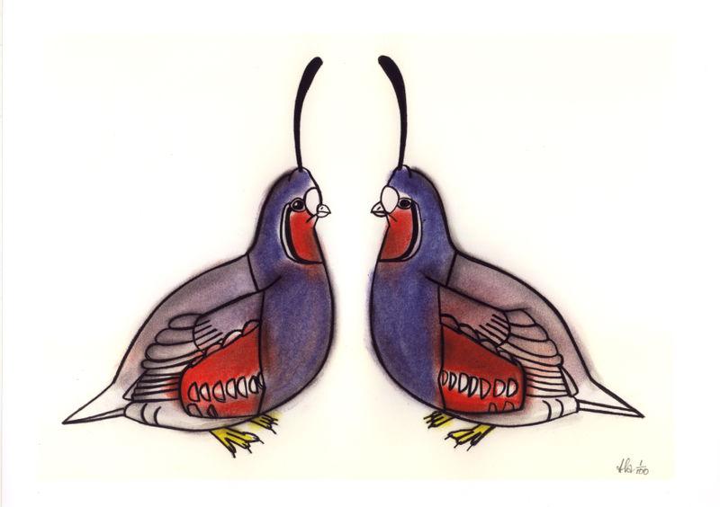 A1 Two fat quails