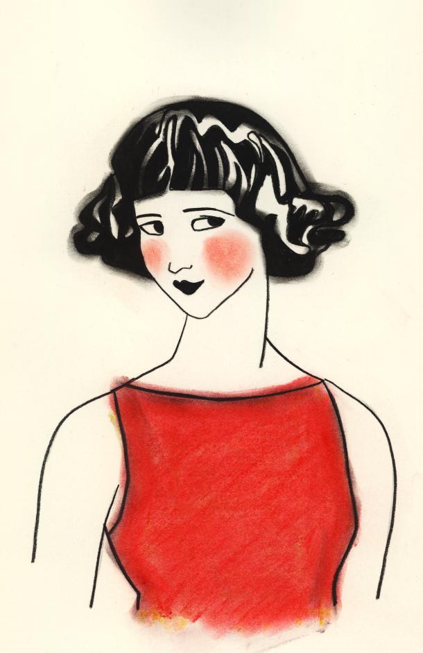FEB red girl