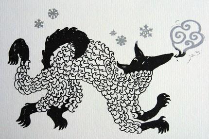 Emma kid polar wolf
