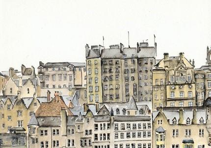 Artquirk Edinburgh windows