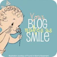 Your blog makes me smile