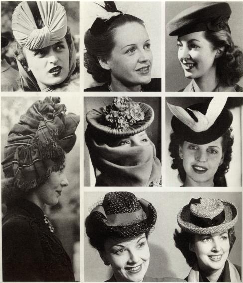 40s hats