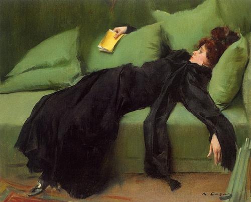 Ramon Casas, Jove Decadent, 1910
