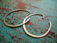 Orbit - Urban Sterling Silver Hoop Earrings