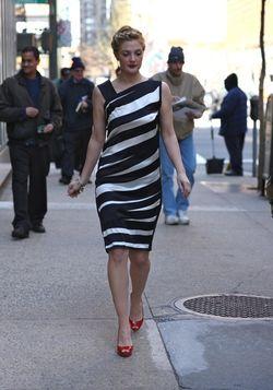 Drew stiped dress