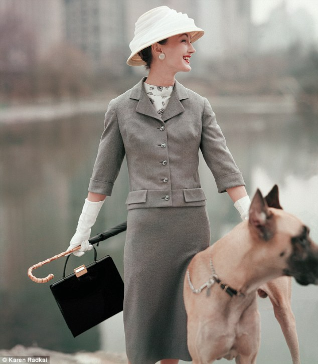 Dogs in Vogue 1956