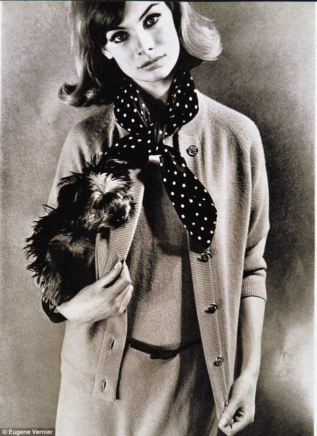 Dogs in Vogue Jean Shrimpton.jgp