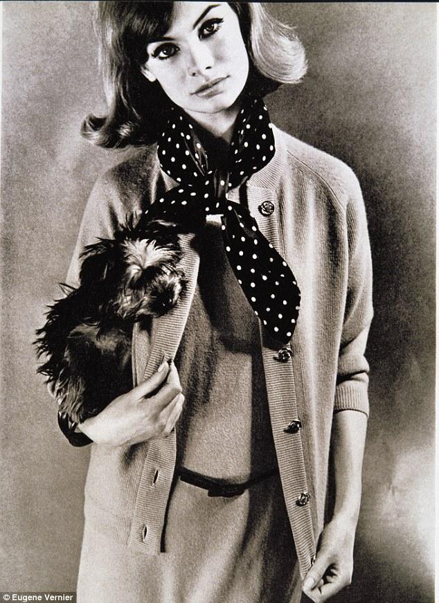 Dogs in Vogue Jean Shrimpton.jgp