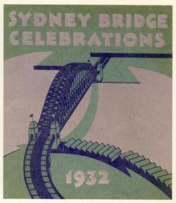 Sydney Bridge Celebrations 1932