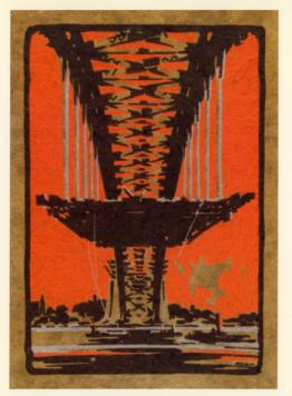 Sydney Harbour Bridge curtis 1933