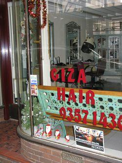 Giza Hair Salon Macleay street