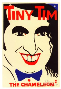 Tiny Tim Poster Martin Sharp