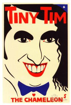 Tiny Tim Poster Martin Sharp