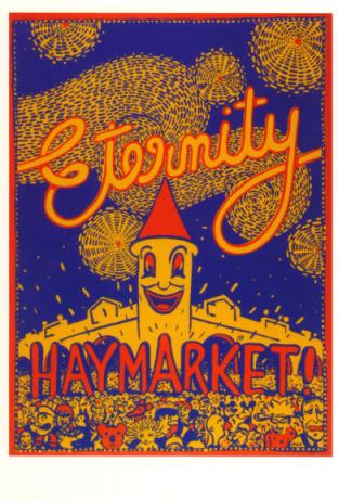 Haymarket poster Martin Sharp