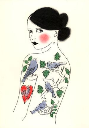 November The girl who loved birds