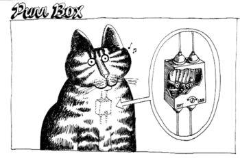 Kliban Purr box