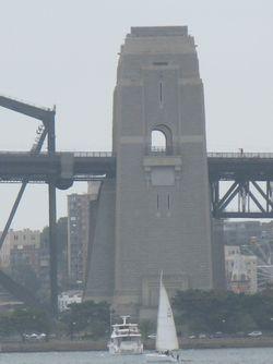 Sss pilon of bridge