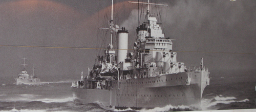 SSS Navy poster
