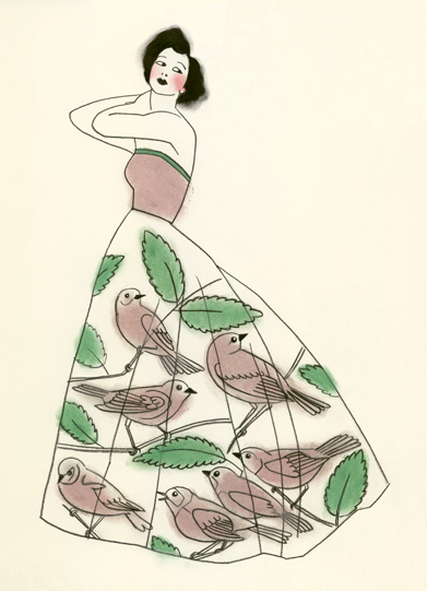 Bird cage dress By Matou_en_Peluche