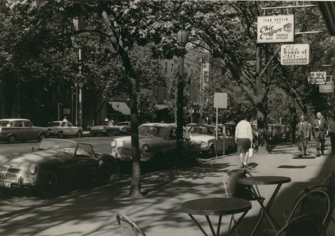 Melbourne Collins Street 1960s