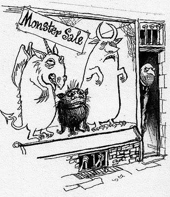 Monstersale_ronaldsearle