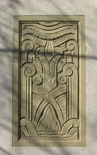 Art Deco Building.2 Matou en Peluche