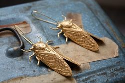 Cicada Earrings ChristineDomanic