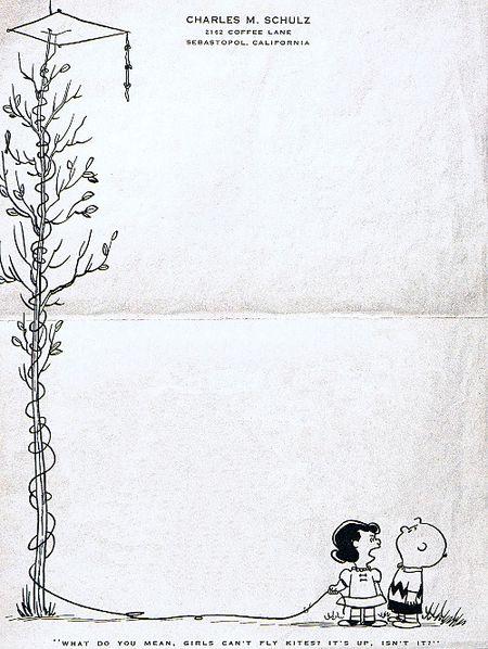 Letterhead_Charles_M_Schulz