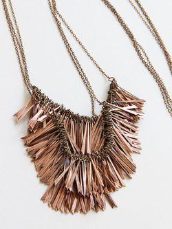 Vintage-copper-fringe-necklace-2