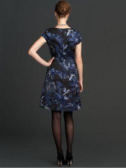 BR-begonia print dress