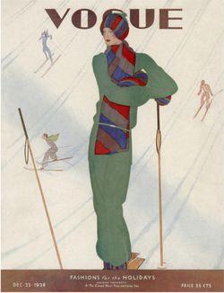 Christmas Vogue 1928