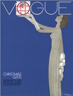 Christmas Vogue 1930