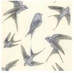 Blue Bird Matou en Peluche