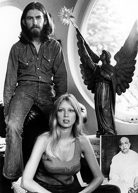 Pattie_Boyd&George_Harrison