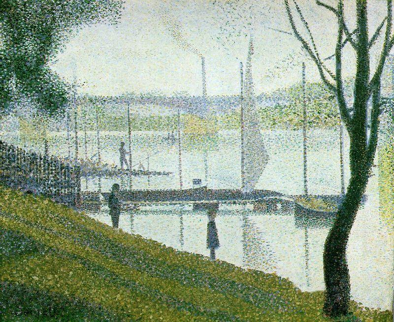 Seurat Le Pont de Courbevoie