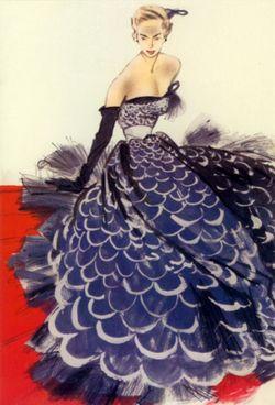 1950s fashion Matou En Peluche