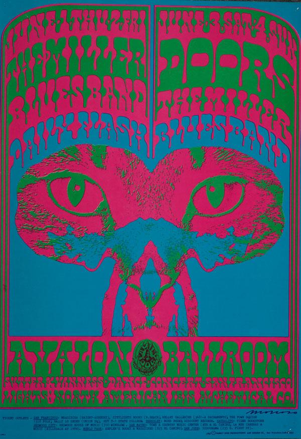 Victor-Moscoso_Avalon-Ballroom-1967_Doors