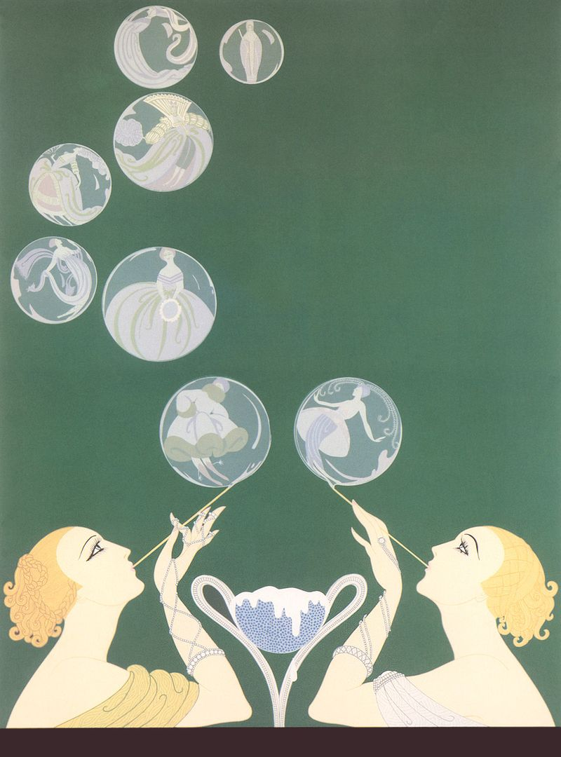 Erte-the-bubbles