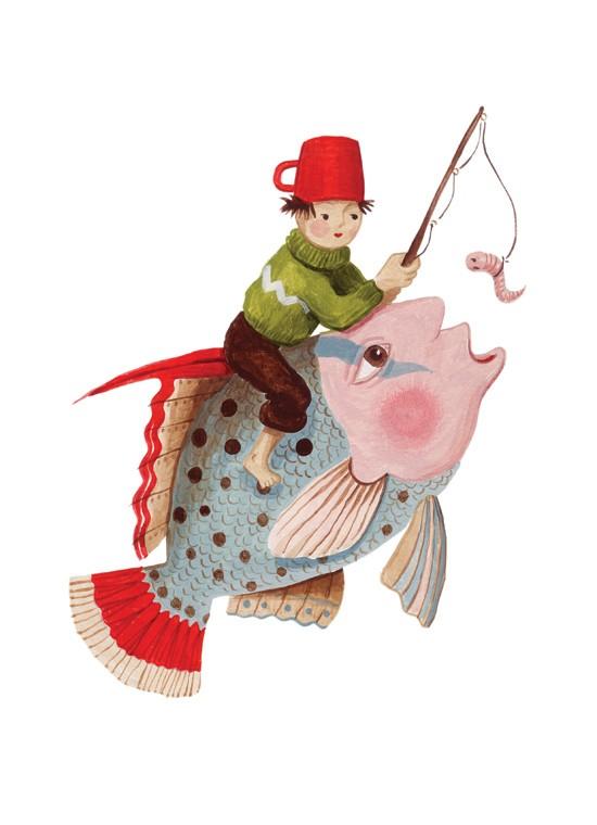 BoyandFish