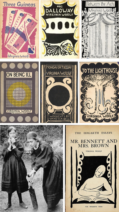 Virginia Woolf_Book_covers