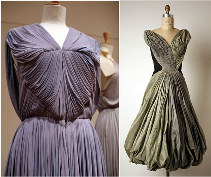 Madame Grès pleated dress