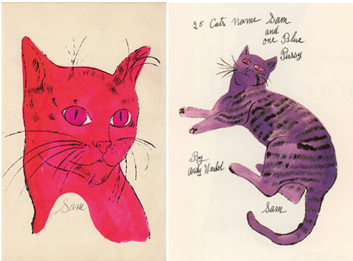 Warhol_25_Cats_named_Sam