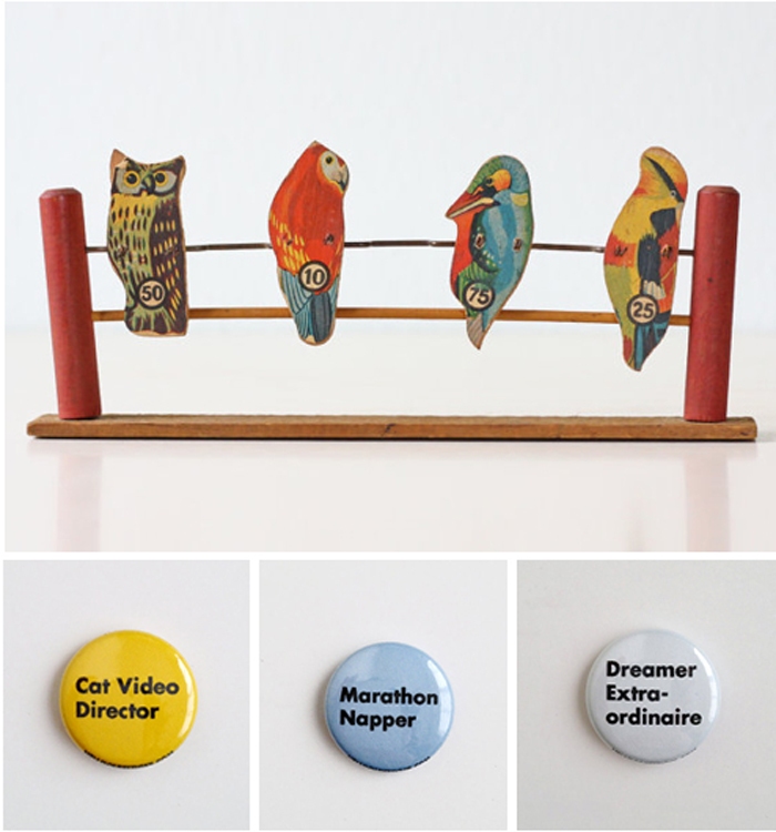 Bird-badges