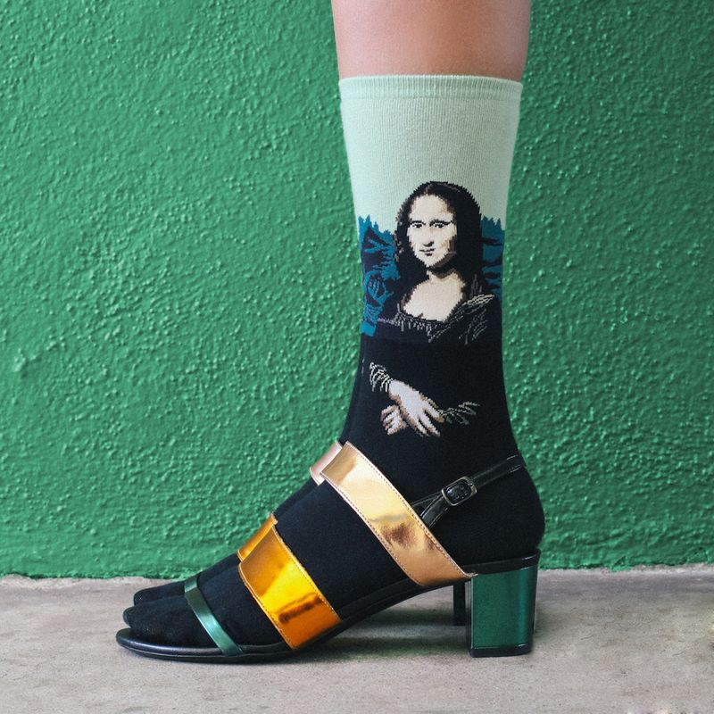 Cool-socks-Mona-LiSA