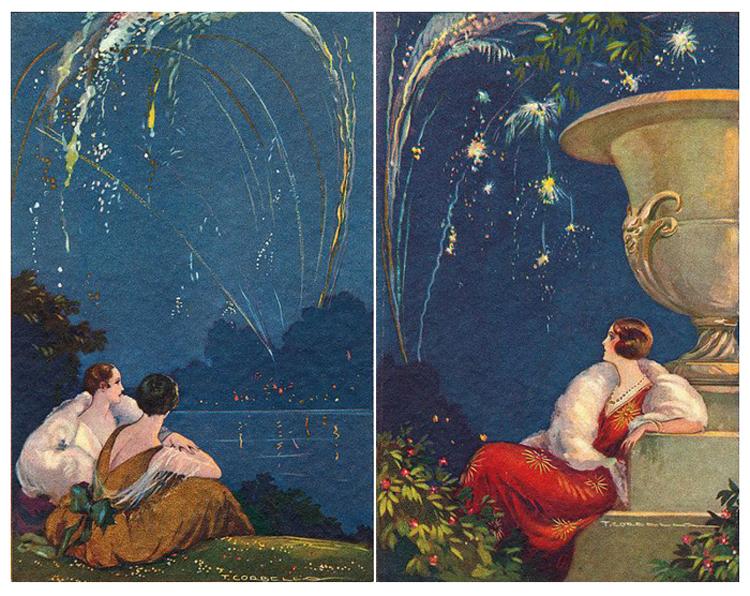 Tito Corbella (1885-1966) Postcard