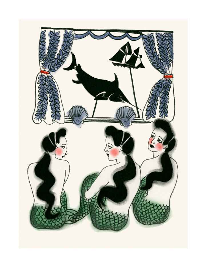 Matou_en_Peluche-Mermaids-shadow puppet play