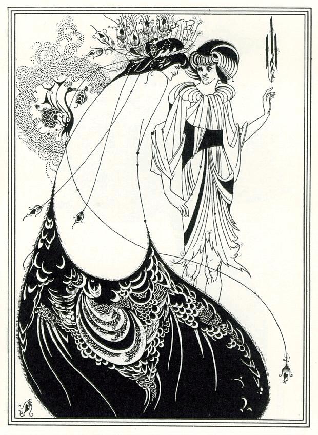 Beardsley-peacockskirt