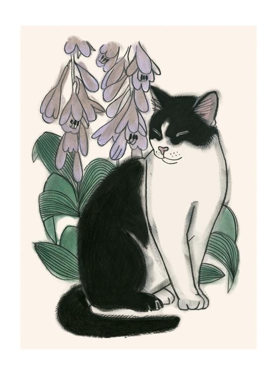 Matou_en_Peluche_Botanical Cat