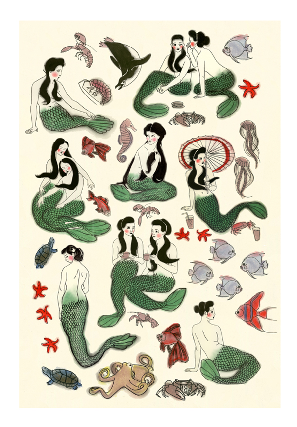 Matou_en_Peluche_Mermaid - Collage