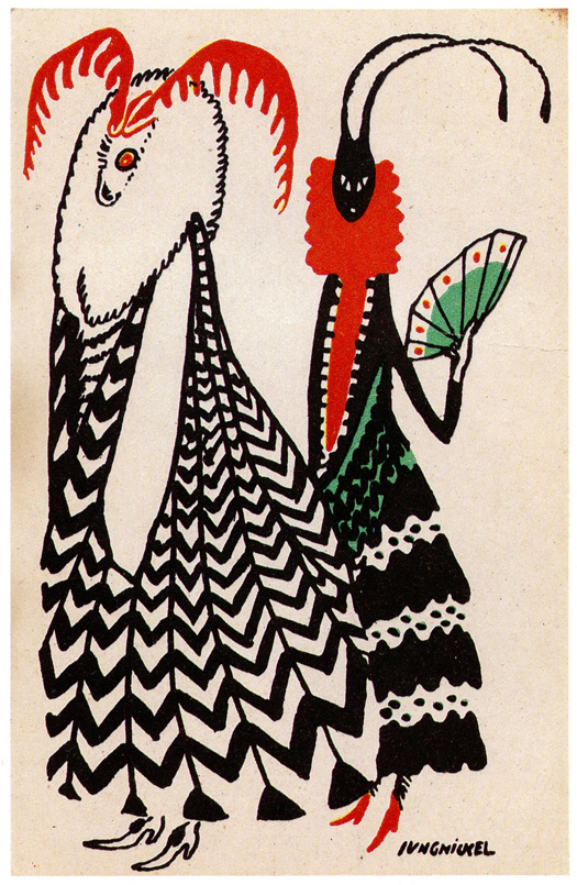 03 Ludwig Heinrich Jungnickel- postcard 380
